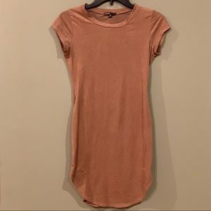 5 for $25 - Faux Suede Bodycon Dress